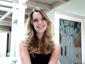 Adorable Babe Kenna James Gives An Interview After Taking Part In Hot Lesbian Scene