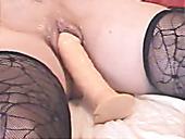 Pallid Slutty Rita And Janice Enjoy Having A Bit Weird And Hot Threesome