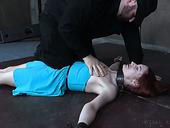 Whore Violet Monroe Gets Punished In The Cold Bdsm Room
