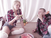Cute Pigtailed Babe Zoey Monroe Enjoys Having Crazy Anal Sex
