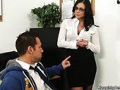 Rapacious Student Eats Tasty Slit Of Strict Teacher Kendra Lust