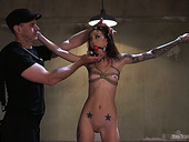 Sluttishly Looking Babe Kendra Cole Is Tied Up And Fucked By One Horny Dude