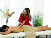 Sexually Charged Masseuse Kimmy Granger Enjoys Sucking Hard Dick Before Sex On The Massage Table
