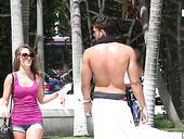 Lustful Porn Model Kimmy Granger Picks Up One Dude In The Street