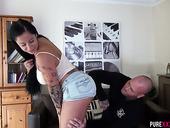 Tattooed Slut Kimmie Foxx Enjoys Having Crazy And Dirty Sex