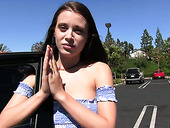 Babe With Suspended Licence Lana Rhoades Is Fucked By One Perverted Policeman