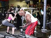 BBC Fucks Super Yummy Babe Tiffany Star At The Gym