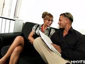 Sextractive Milf Jennifer Love Enjoys Eating Hard Dick Before Steamy Sex