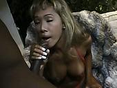 Exotic Chick Kasorn Swan Is Having Crazy Sex With Mandingo