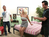Loser Husband Watches How His Whore Wife Mandy Sweet Rides Meaty Shlong