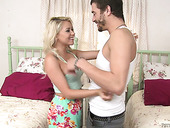 Marsha May Shows Depethroat Masterclass To One Horny Guy