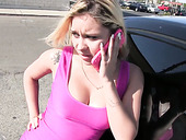 Big Tittied Harlot Marsha May Is Having Dirty Sex In The Back Seat