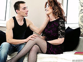 Young Dude Enjoys Having Dirty Sex With Mature Bitch Mayna May