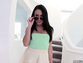 Slutty Chick In Short Skirt Megan Rain Is Fucked In Her Whorish Muff