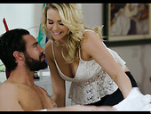 Mouth Watering Blond Babe Mia Malkova Is Making Love With Her Boyfriend