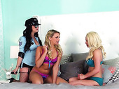 Hot Lesbian Video Starring Hot Gals Like Mia Malkova, Spencer Scott & Taylor Vixen