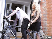 Sex-starved British Milf Rebecca Jane Smyth Fucks Young Delivery Guy