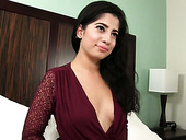 Attractive Hottie Nadia Ali Gets Her Yummy Pussy Slammed