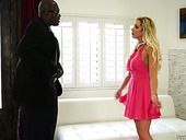Fucking Hot Seductress Nadia North Is Fond Of Big And Black Juicy Pole