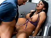 Nadia Styles Keeps Her Legs Wide Open