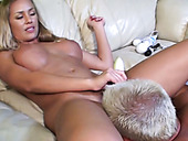 Bonny Blonde Babe With Big Boobs Nicole Aniston Reaches Squirting Orgasm