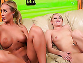 Sweet Blonde Girl Ash Hollywood And Busty Vixen Nicole Aniston In Lesbo Scene
