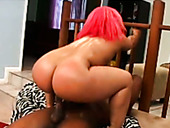 Chocolate Slut Pinky Has King Sized Booty And Loves Only Huge Black Dicks