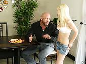 Petite Blonde Piper Perri Is Fond Of Giant Dick