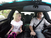 Petite Blonde Piper Perri Hooks Up With One Stranger Driver