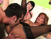 Tara Holiday Makes Out With Daniel Hunter And Megan Piper Wants To Joins Them