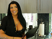 Curvy Bitch With Sexy Tattoo On Her Back Romi Rain Enjoys Having Dirty Sex With Her Lover