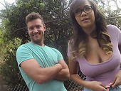 Super Busty Bitch Cassidy Banks Is Fucked Outdoor By One Stranger