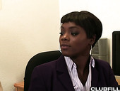 Black Secretary Anna Foxxx Is Having Sex With Lesbian White Co-worker