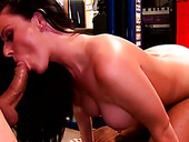 Perverted Redhead Sophie Dee Takes Some Hard Cock From Behind