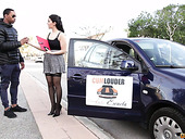 Italian Hottie Valentina Nappi Hooks Up With Black Driving Instructor