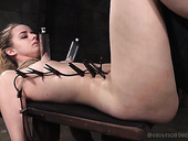 Small Tittied Jessica Kay Is Punished In The Dark Torture Room