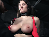 Whore With Tied Up Boobs Rylie Kay Gets Punished In The Torture Room