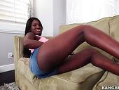 Big Tittied Ebony Chick Kay Love Sucks And Fucks Like There's No Tomorrow