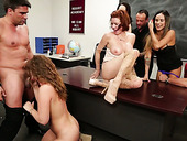 Naughty College Gal Veronica Avluv Is Taking Part In Crazy Group Orgy