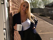 Sexually Charged Secretary With Huge Boobs And Hell Working Twat Victoria Summers