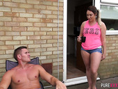 Captivating Bitch Victoria Summers Takes Hard Cock In Her Stretched Punani