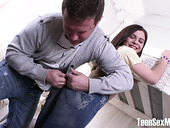 Rude Dude Fucks Pretty Hot Teen In Ripped Jeans Erika Korti
