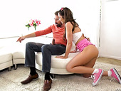Lovely Teen Lily Adams Gets Intimate With Hot Blooded Step Daddy