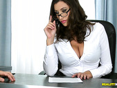 Huge Stacked Secretary Sensual Jane Is Fucked By Hot Tempered Boss