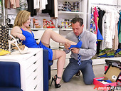 Addicted To Extreme Sex Holly Hanson Has Quickie In The Shop