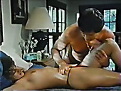 Erotic Massage Is Turned Into Pussy Licking Workout With Vintage Brunette