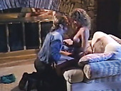 Light Haired Vintage Lady Stacey Nichols Gets Her Pussy Licked And Poked