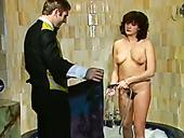 Bitchie Vintage Brunette Sluts With Big Butt Gets Banged Doggy And Gives BJ