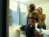 Ladyboy Valentina Vasquez Puts On Sexy Lingerie And Stockings
