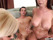 Stunning Bang Bros Ladies Jessica Lynn, Emily Parker And Brandy Aniston In Steamy Orgy